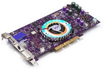 A photo of the ASUS v8440 128mb GeForce 4 Ti4400 graphics card